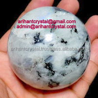 Rainbow Moonstone Spheres