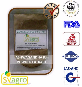 Pure Natural Ashwagandha Extract Powder 4:1,10:1,20:1, 100% organic Ashwagandha