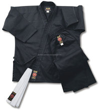 100% cotton training black martial arts karate uniforms ,karate suit