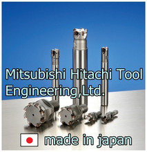 Mitsubishi Hitachi Tool High Hard Radius Face and Side Milling Cutter with Carbide Indexable Milling Inserts