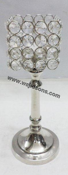Choice Crystal Collection Diamond Candle Holder for Weddings