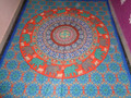 circle round printed elephant tapestries