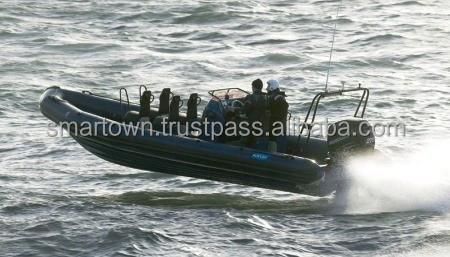 Rigid Inflatable Boat model RIB 8.0 LAW ENFORCEMENT - Made in the UAE.