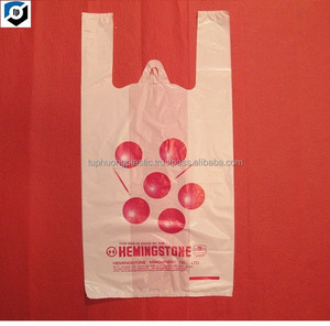 Hot sealing T-shirt plastic bag/Plastic bag/Vest carriers plastic bag