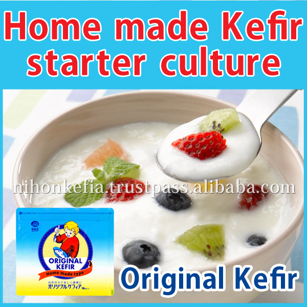 Healthy and Home made long life yogurt , kefir starter culture for home use , enzyme also available