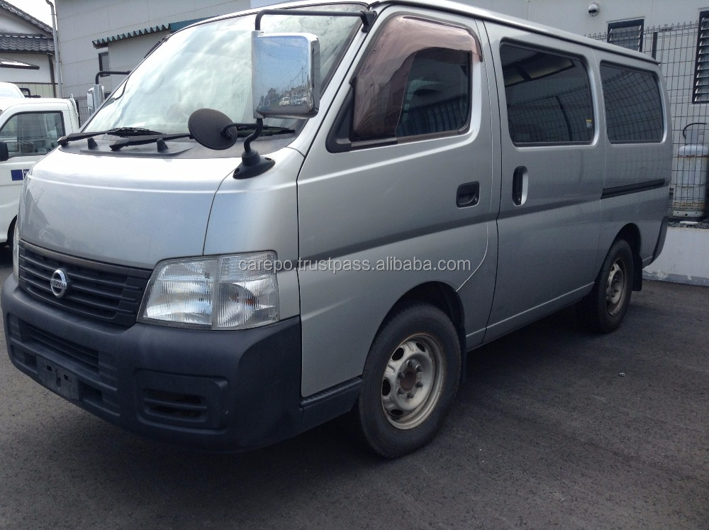 SECONDHAND RIGHT HAND STEERING DIESEL CAR NISSAN CARAVAN 2004 FOR SALE IN JAPAN