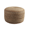 Braided Hemp PoufBraided Hemp Puff for Home Decor