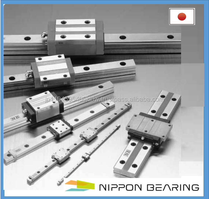 High quality and Easy to operate linear NB guide with smooth linear motion