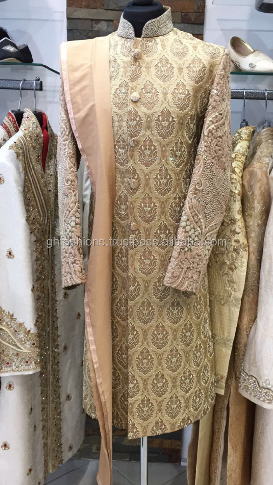 Groom Wedding Designer Sherwani 2016-2017