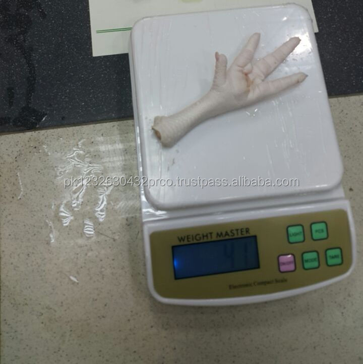 Freezing Process Chicken Feet