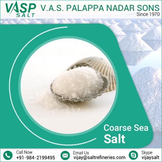Quality Approved Coarse Granulated Sea Salt Available in Different Packaging