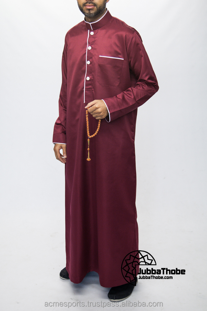 Al Daffah Thobes - Wholesale factory price model men abaya dubai al daffah thobe
