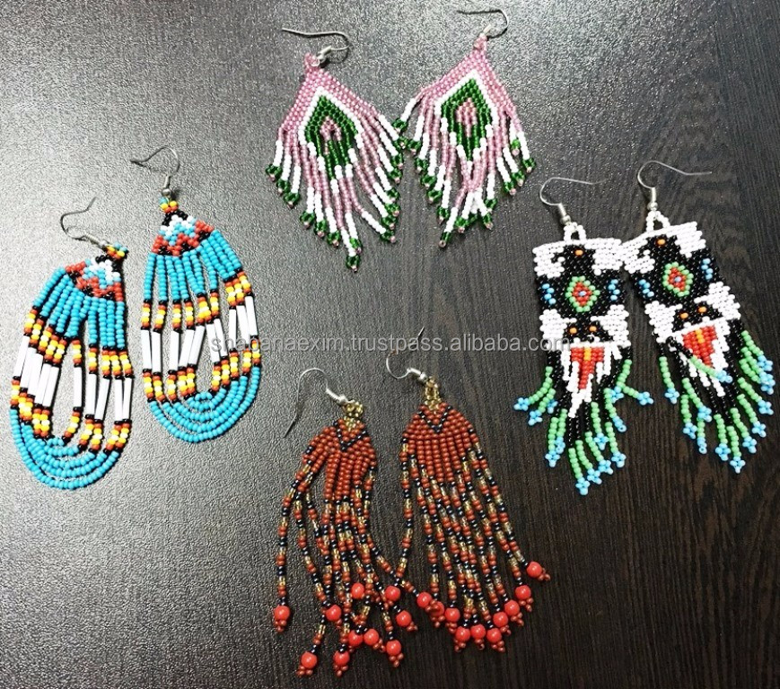 Tribal Kuchhi Earrings Hoop Earring ear cuffs