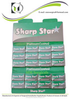 sharp Star Shaving Blades / Double Edge Razor Blades / Shaving blades for razor