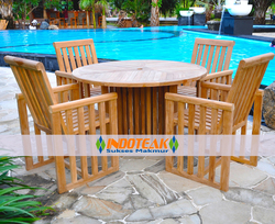 Teak Outdoor and Patio furniture for Hotel furniture, restaurant furniture, home and garden furniture