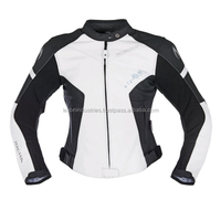 Ladies motorcycle leather jacket with full protection for best ride/motor bike leather made in Pakistan