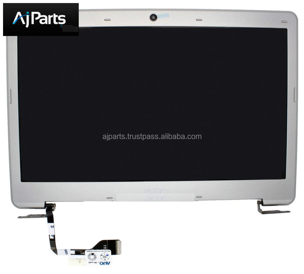 "Brand New and Original 13.3"" LED Slim LCD Screen Assembly for Acer Aspire S3 S3-951 S3-391 Silver"