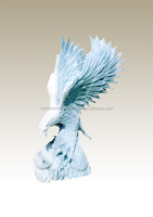Eagle sculpture statue marble stone hand carved sculpture from Vietnam