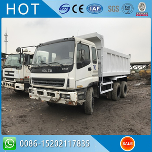 Good Price Japan Tipper Lorry ISUZU Dump Truck For Sale