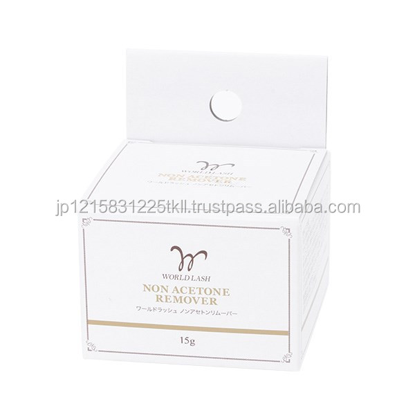 Cream type eyelash extension adhesive remover , other salon products also available