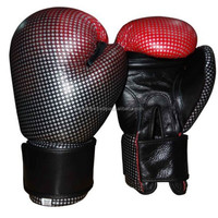Professional PU leather boxing gloves, DISCONTINUED (Please search for more such items on our site