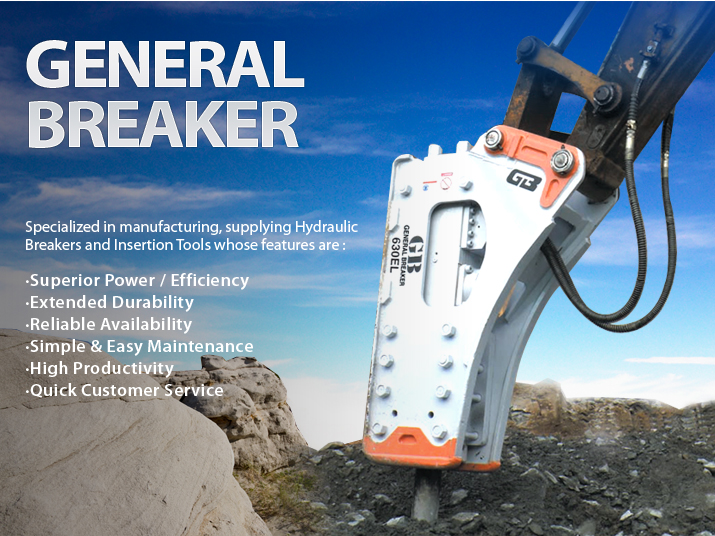 GB Hydraulic Breaker