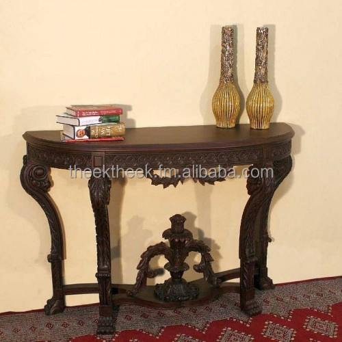 Wooden Imperial Antique Console