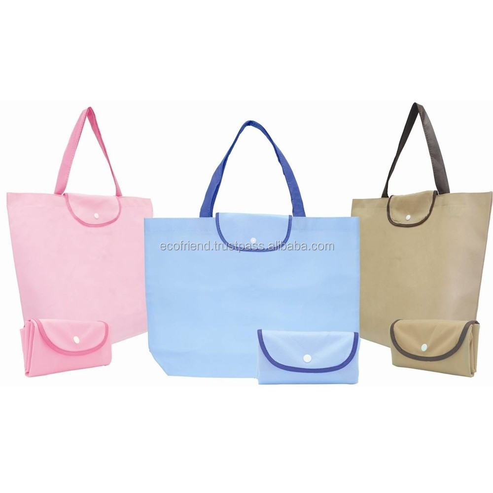 50pcs Non Woven Foldable Bag (B0017)