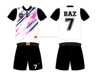 Custom design Sublimation Soccer Jersey and shorts TVPSC206