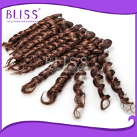 blonde indian remy hair weave,curly nano ring virgin remy hair extension