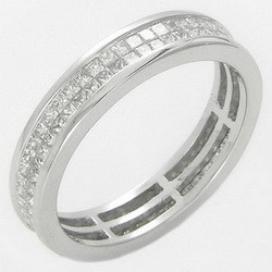 2017 wedding ring wiht diamond latest silver ring design for women and men from Thailand