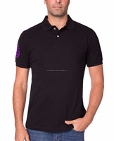 Custom new model shirts 100% polyester high quality man polo t shirt