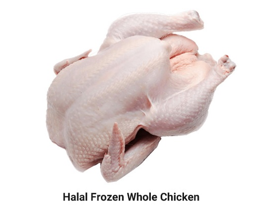 whole frozen chicken for export