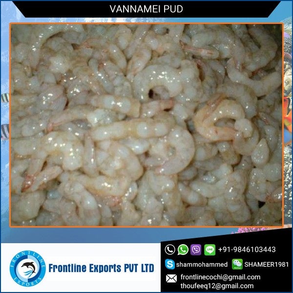 Fresh and Soft Vannamei Pud for Various Food Dishes