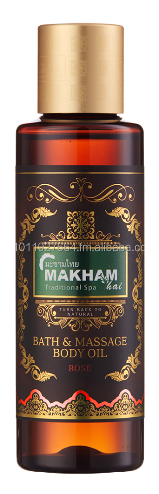MAKHAMTHAI Rose Bath & Massage Body Oil