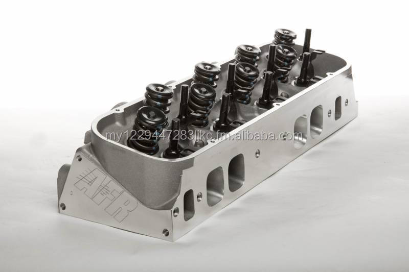 BBC 265cc Magnum Oval Port Aluminum Cylinder Heads Chevy Big Block 468 3610