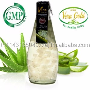 Aloe Vera in Grape Juice For Healthy Drinks 300 cc a bottle