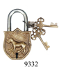 wholesale antique brass dog lock