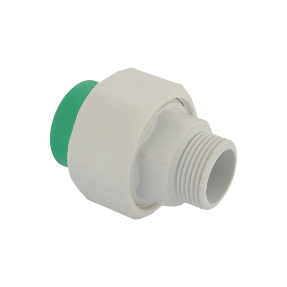 PPR plastic fittings: Union Plastic