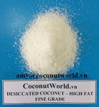 DESICCATED COCONUT - THE MOST COMPETITIVE PRICE FROM VIETNAM
