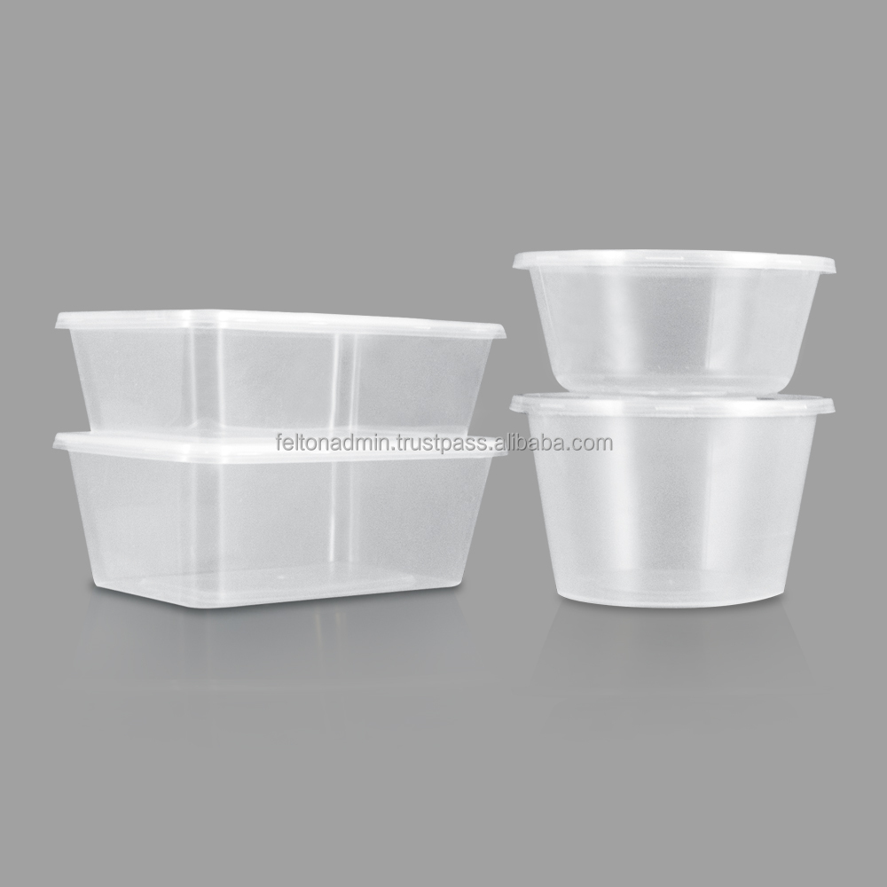 Disposal Microwave Plastic Food Container Thinwall