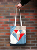 tote bags - Custom Sublimation Printing Shopping Tote Bags