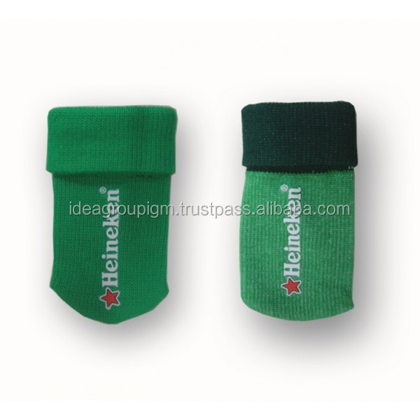 Poliester and elasten Phone Socks Pouch
