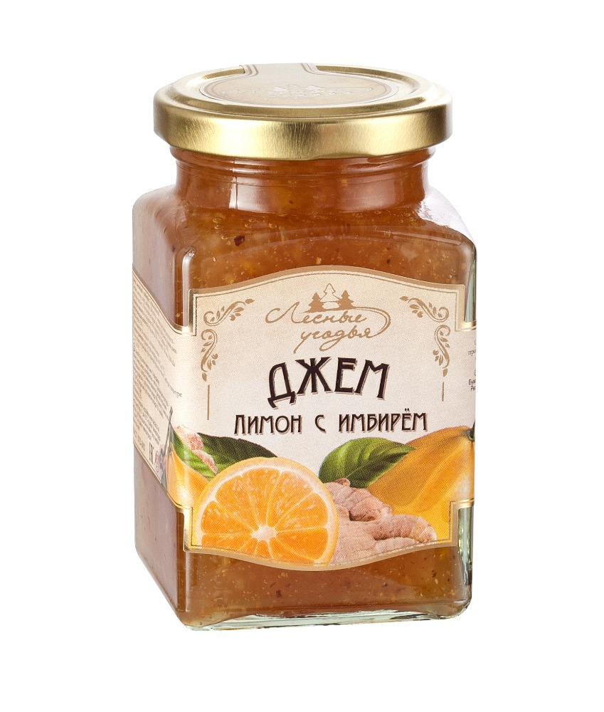 LESNY UGODYA Lemon Ginger Fruit Jam