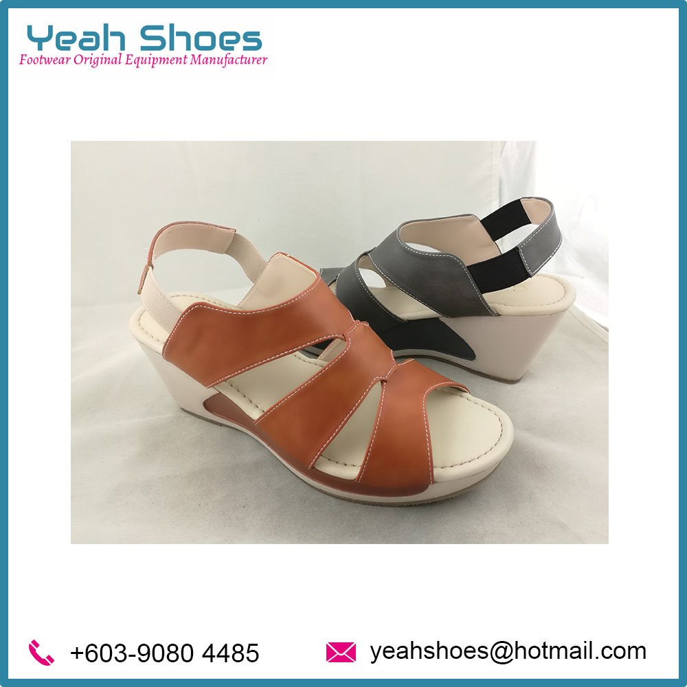 Latest Design Ladies Comfort Sandals from Malaysia