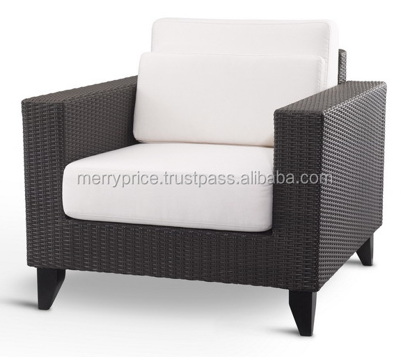CHELSEA SOFA : Rattan Outdoor Furniture Patio Wicker Sectional Sofa Set