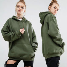 Custom Clothing Blank Plain Dyed Cheap hoodie/Wholesale Oversized Tri-Blend Pullover Crop Hoodie