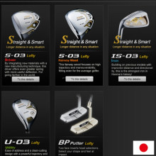 Popular and Various types of golf driver left golf clubs for improving performance , balls, wears also available
