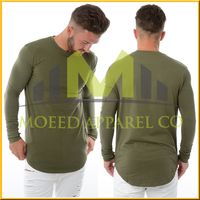 best-selling korea fashion style good quality loose fit long sleeve polo tshirt