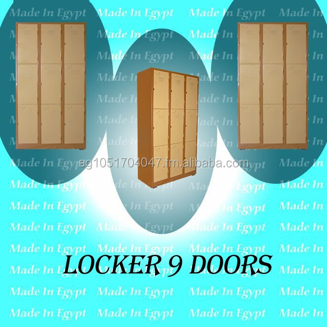 locker 9 doors